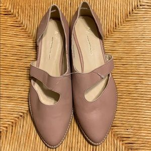 Anthropologie D'orsay Cut Out Slip Ons